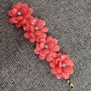 J.crew flower bracelet